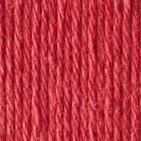 Lily Sugar'N Cream Aran Knitting Wool Yarn 71g -1530 Country Red